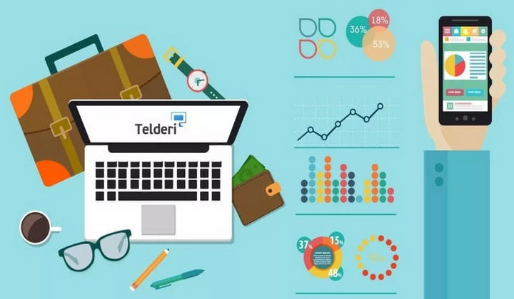 Telderi - exchange for buying and selling sites