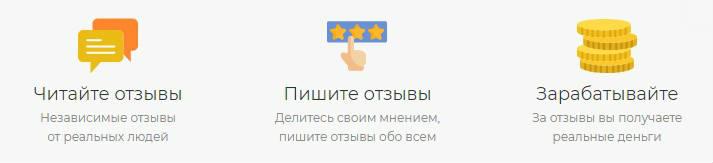 Зарабатывать на сайте отзывов Vseotzyvy